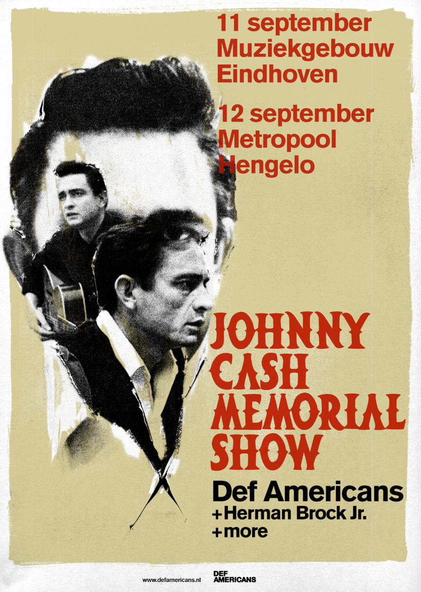 poster memorial nights johnny cash